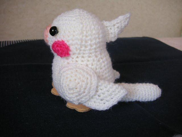 Cute Kawaii Amigurumi Patterns : 1500 Free Amigurumi Patterns: Bird. crochet animals and ...
