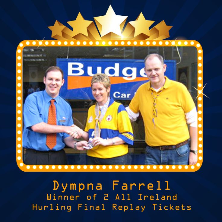 Congratulations once again to Dympna Farrell who was the
