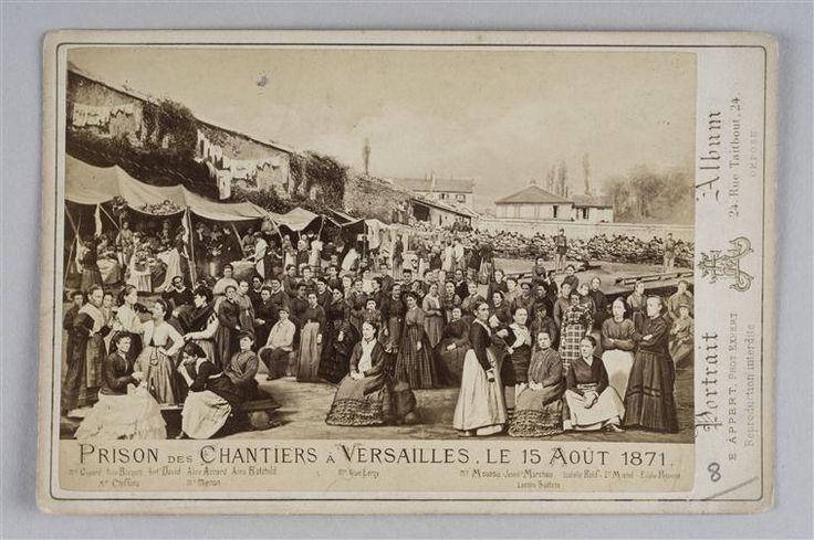 15 Aout 1871 prison des chantiers à Versailles-Femmes accusées-Réunion des Musées Nationaux-Grand Palais -