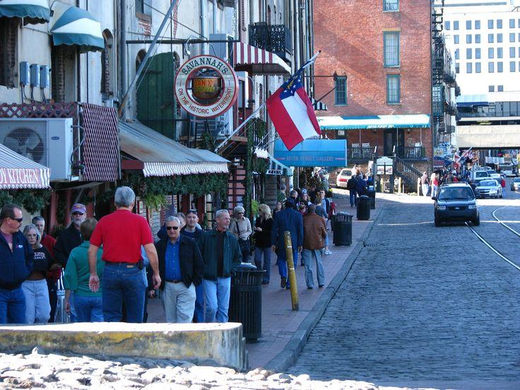 Riverfront Restaurants on River Street in Savannah GA ...