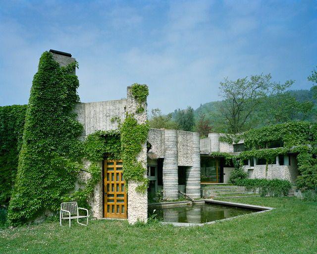 Villa Ottolenghi. Residence in Verona, Italy designed by Carlo Scarpa.