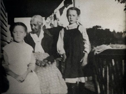 "July 1, 1912: Maine's 42-acre Malaga Island founded by Benjamin Darling, an ex-slave, ceased to exist. The State of Maine had driven the mixed race residents from their home— ridding this island of ""its shiftless population of half-breed blacks and whites."" Some were placed in the Maine Home for the Feeble Minded. Seventeen bodies were disinterred from the cemetery and reburied in five caskets on the grounds of the Maine Home for the Feeble Minded."