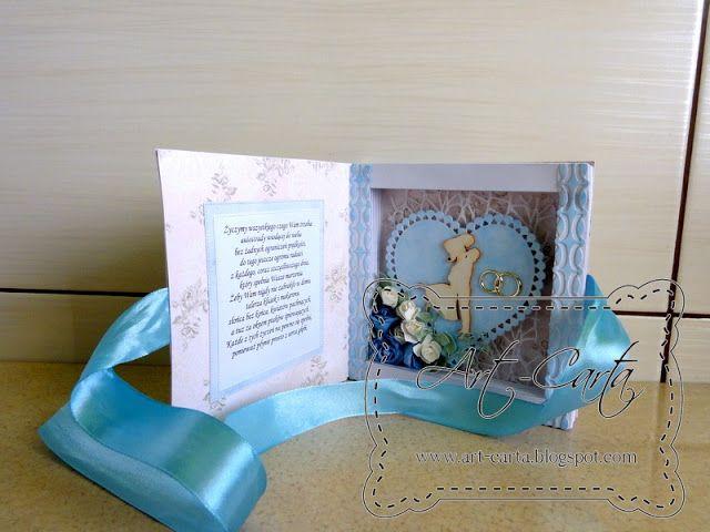 Art-Carta : Kartka-księga na ślub