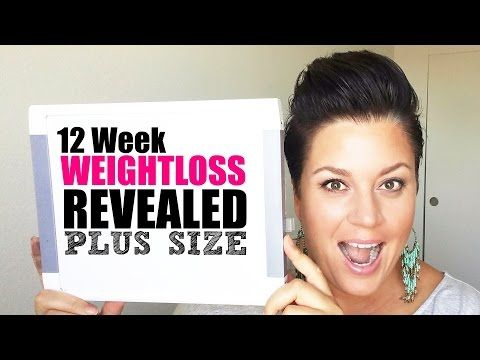 PROGRESS PICTURES 12 week weight loss results - plus size fitness - YouTube