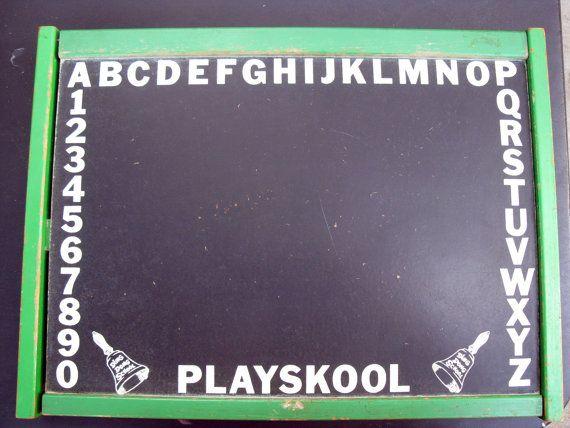 Ding Dong School Chalkboard Lap Desk By Playskool