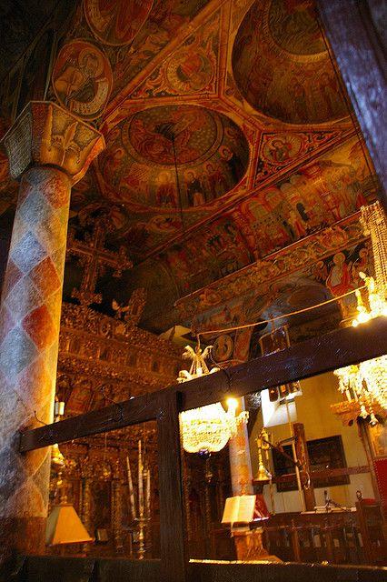 Església de Kissos |  Interior of the Kissos church in Pelion, Magnesia, Greece