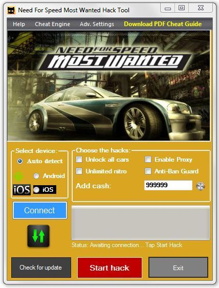 Need for Speed Most Wanted Triche Télécharger | Telecharger Jeux PC Version Complète