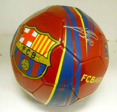 FC Barcelona Lionel Messi Hand Signed Autographed Soccer Ball 389.00