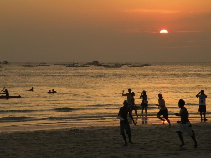 Sunset @ Boracay