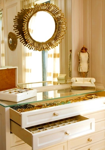 glamour | More boudoir lusciousness at http://mylusciouslife.com/walk-in-wardrobes-closets-dressing-rooms-boudoirs/