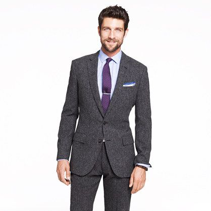 my suit of choice // jcrew ludlowGrey Suits, Wool Tweed, English Wool, J Crew,  Suits Of Clothing, Ludlow Suits, Suits Jcrew, Male Tweed Suits, Jcrew Ludlow