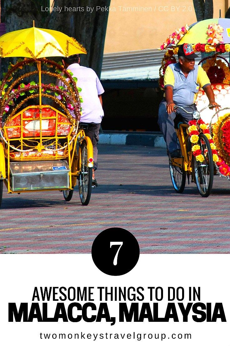 7 Awesome Things To Do in Malacca, Malaysia  Malacca, an amazingly small melting pot of rich culture, history and arts.     Ever since I rekindled this love affair with wanderlust, I have bucket-listed UNESCO World Heritage sites as my must-experience destinations, and I am glad that four to five hours away by bus from Singapore is a perfect weekend sweet escape – Malacca, an amazingly small melting pot of rich culture, history and arts.