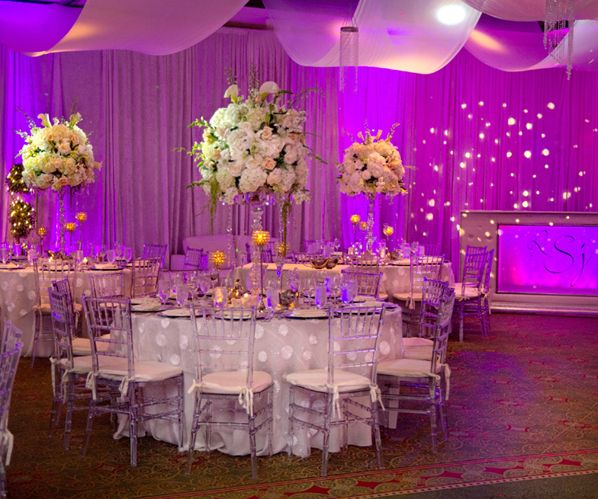 Purple Gold And White Wedding Theme | Wedding Tips and Inspiration