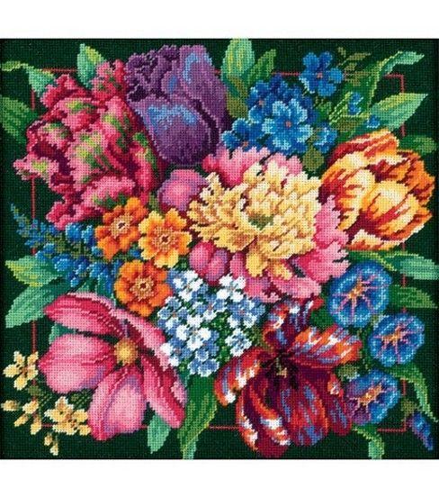 Dimensions Floral Splendor Ndlept Kit at Joann.com Love the colors