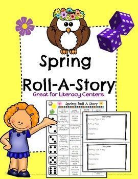 This Spring themed Roll-A-Story will have your students engaged and having fun as they roll a dice to determine the setting, character and problem of their Spring story! There are 2 different types of lined paper and a story planning sheet to help them brainstorm before writing. (scheduled via http://www.tailwindapp.com?utm_source=pinterest&utm_medium=twpin)