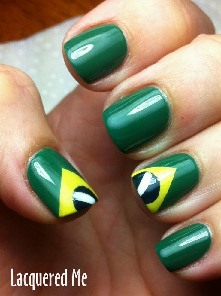 something brazilian on my nails