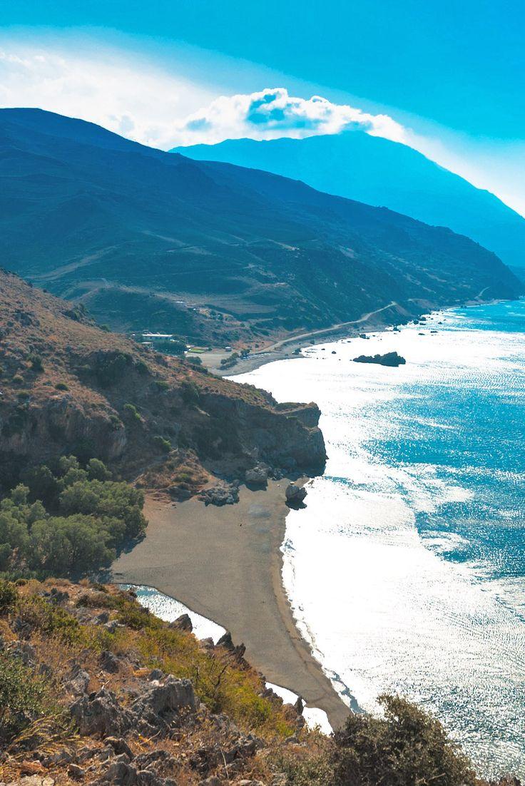 Preveli Palm Beach in Rethymno #crete #travel #inspiration