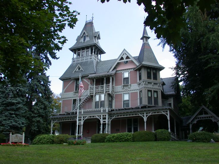 Victorian homes guide to stick style architecture claire t carney library victorian for What architectural style is my home