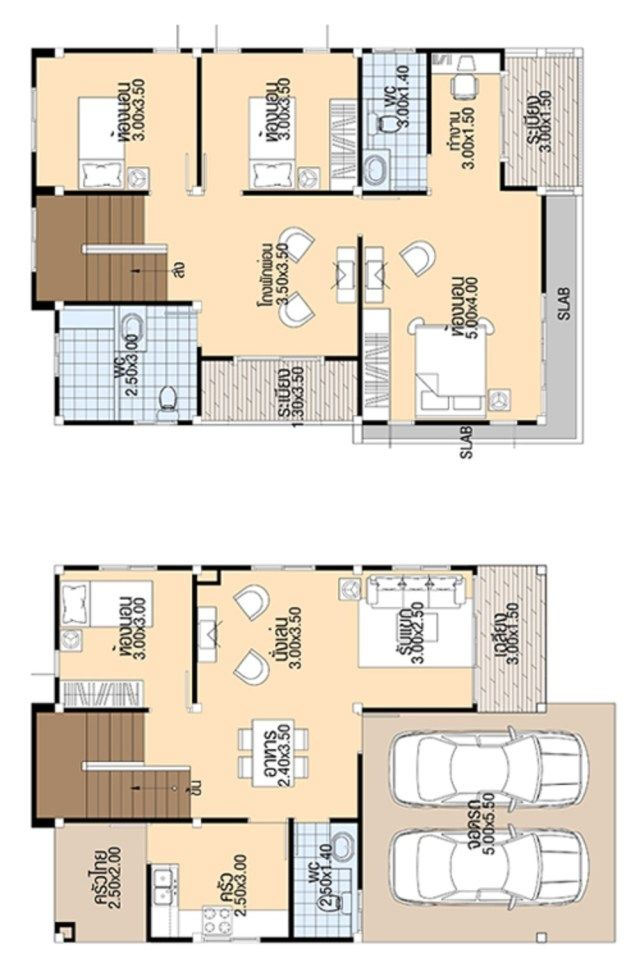 House Design 3d 8x10 5 With 4 Bedrooms Tiny House Design 3d House Plans Bedroom House Plans 5 Bedroom House Plans
