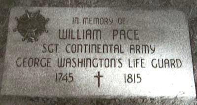 """William Pace - my 5x great grandfather - chosen by General George Washington himself for Washington's Life Guard, from May, 1777, until the war's end. From Pace's Discharge Papers: """"I hereby certify that William Pace enlisted in the 14th Virginia Regiment in January, 1777, and that he has served with Reputation in the Commander-in-Chief's Guard from 1777 to the present day"""" Given at Headquarters the 4th day of June, 1783 by W. Colfax, Captain, Commander-in-Chief's Guard"""