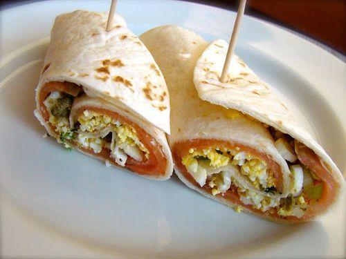 Sándwich de pan pita - Recetas económicas, fáciles y rápidas de preparar   ¿Qué Más?