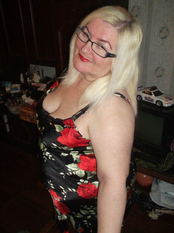 Fat ass old woman