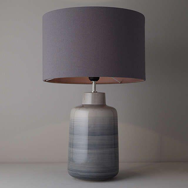 BuyJohn Lewis Aditi Ceramic Table Lamp, Grey Online at johnlewis.com