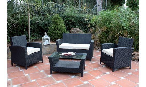 Mobiliario de terraza y jard n de majestic garden en color for Mobiliario jardin terraza