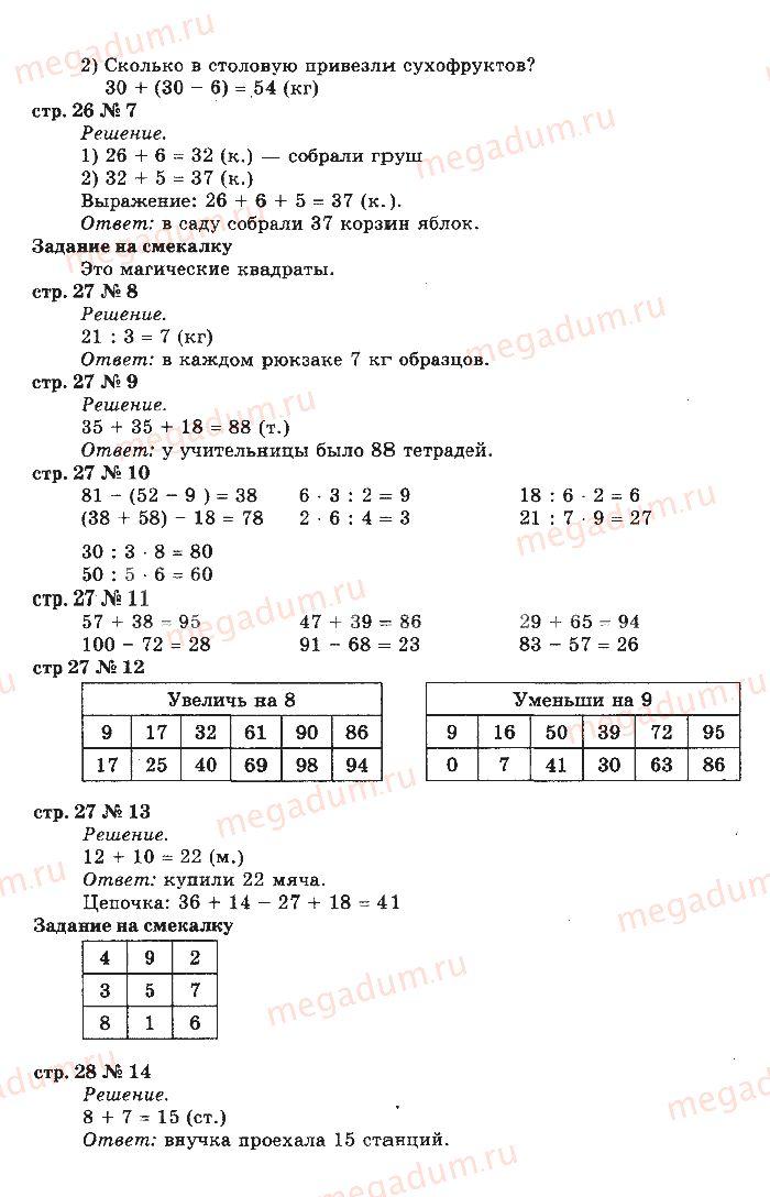 Скачать бесплатно решаем примеры 2 класс гринштейн м.р
