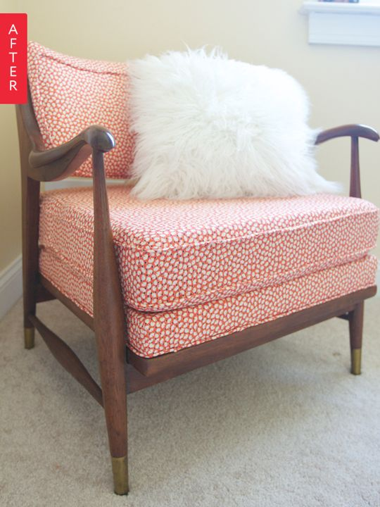 Before U0026 After: Annau0027s Blood, Sweat And Tears Craigslist Chair Makeover
