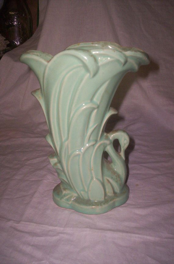 98 Best Images About Mccoy Pottery On Pinterest Green Pedestal And Mccoy Pottery Vases