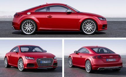 Audi unveils its new-for-2016 TT from Geneva. See photos of the third-generation sports coupe and read more at Car and Driver.
