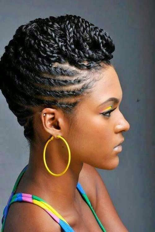short braided hairstyles black women with thin hair braids-for