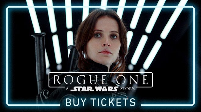 Rogue One: A Star Wars Story Is Here!