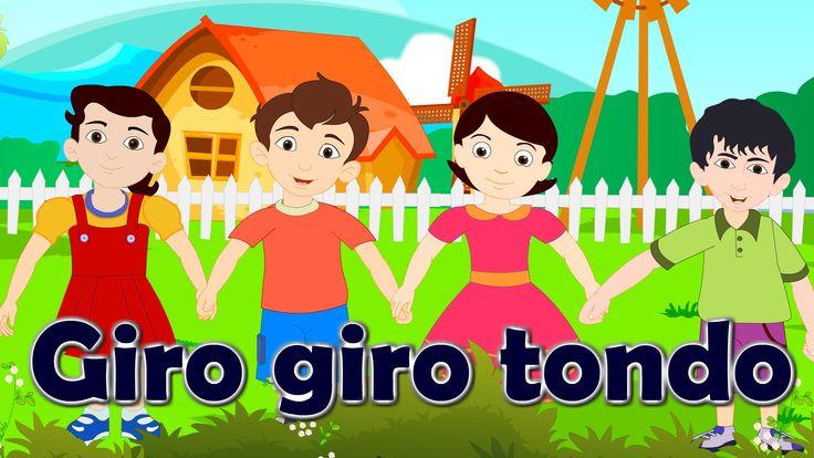 Giro giro tondo + 35 minuti di canzoni per bambini e bimbi piccoli
