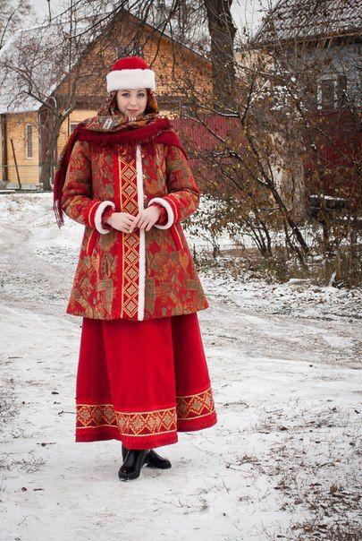 Русский костюм стилизованный. Russian style.