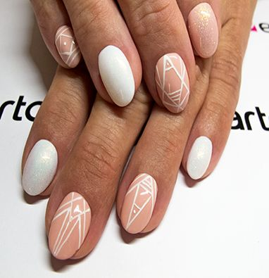 Created by: -GelPolish 726: https://elarto.pl/zel-hybrydowy-kolorowy/15295-elarto-zel-hybrydowy-gelpolish-nr-726-brzoskwiniowy-pastel.html -Ultra White Gel Paint: https://elarto.pl/zel-bialy-do-french-zdobien/14273-elarto-zel-bialy-ultra-white-gel-paint.html