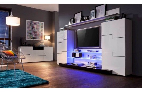 les 99 meilleures images du tableau meuble tv sur pinterest bois meuble et meuble design. Black Bedroom Furniture Sets. Home Design Ideas