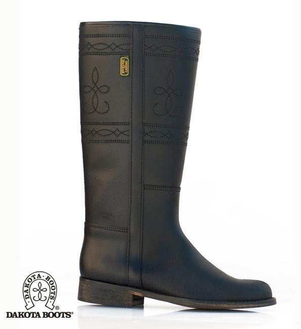 Bota Campera Dakota Boots modelo 400 BG color negro
