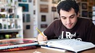An autistic young man uses Disney animated films to reconnect with the wider world.