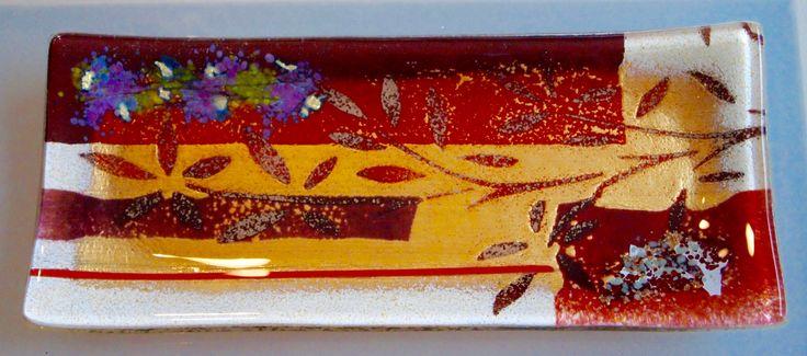 Glasschale handarbeit griechenland tischdeko lang griechisches kunsthandwerk pinterest - Griechische wohnideen ...