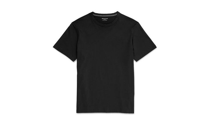 Everyday Regular Fit T-shirt, in Black on Whistles