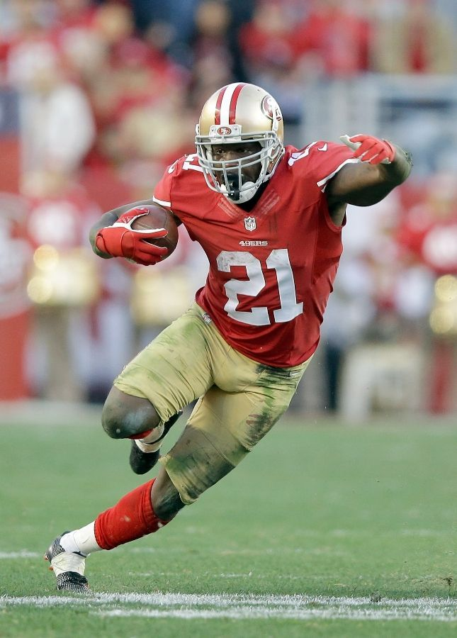 He might be signed on with the Colts now, but I still miss him greatly playing for the Niners!!!