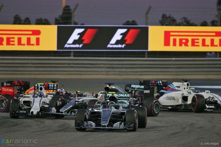 Start, Bahrain International Circuit, 2016