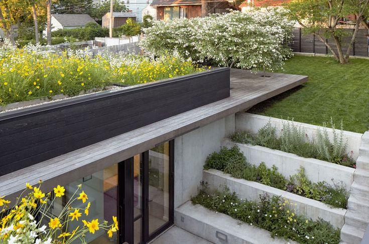 maison moderne avec un toit terrasse v g talis my. Black Bedroom Furniture Sets. Home Design Ideas
