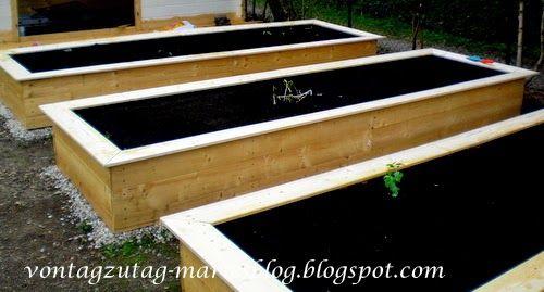 So baut man einfache und kostengünstige Hochbeete.  @vontagzutagmari http://vontagzutag-mariesblog.blogspot.com