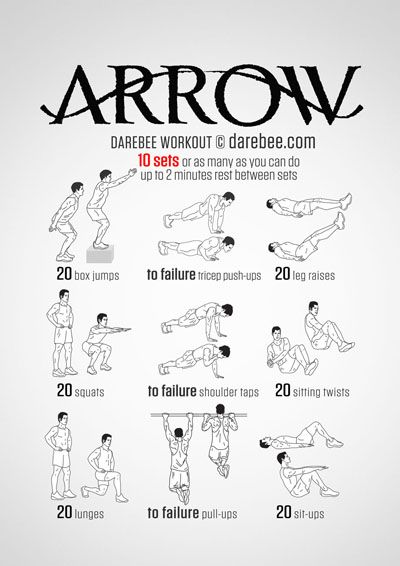 Arrow Workout Great site!! Lots of different workouts and customizable.
