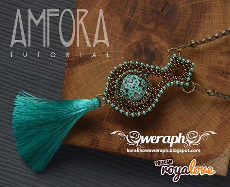 Amfora – wisior z Vintage Bead – tutorial