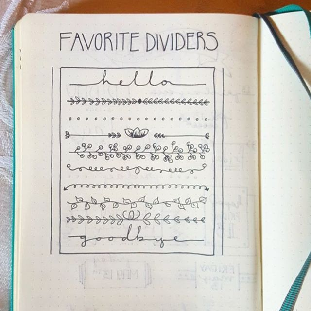 Keeping the theme of spicing up my to-do list, here are my favorite dividers…