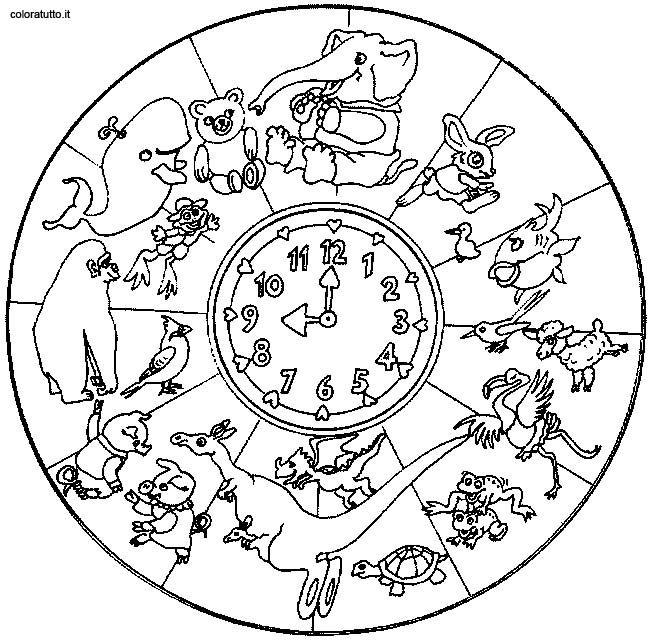 Coloring Page Mandala Animal